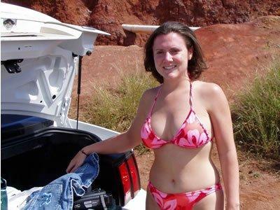 Katalin nyaralási pucérkodásai