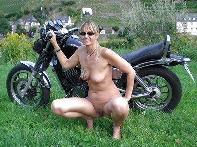 Katja - a bevállalós motoros mami