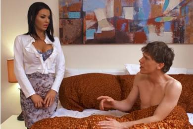 MILF és tini pornó